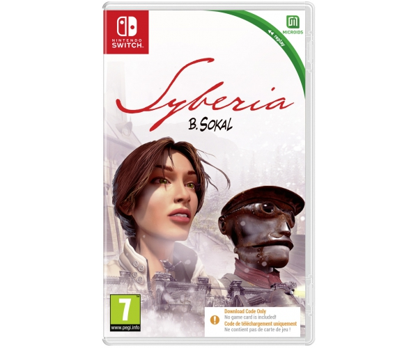 Syberia - Switch (Code in a Box)