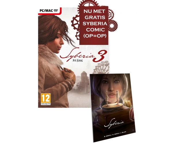 Syberia 3 PC MAC