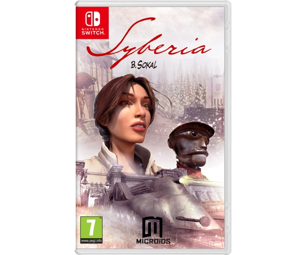 Syberia 1 Switch