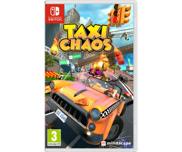 Taxi Chaos - Switch