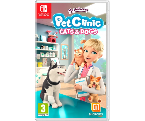 My Universe: Cats & Dogs Pet Clinic - Switch