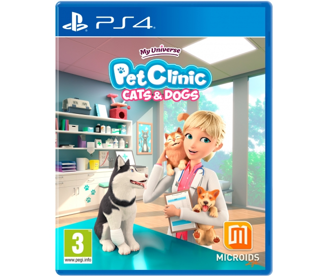 My Universe: Cats & Dogs Pet Clinic - PS4