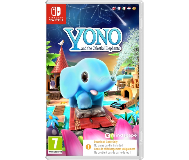 Yono and the Celestial Elephants - Switch (Code in a Box)